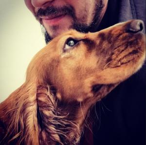 Александр с собакой
